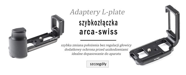 Adaptery L-plate